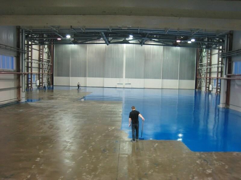полиуретановое покрытие бетона